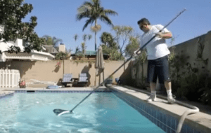 pool suction issue